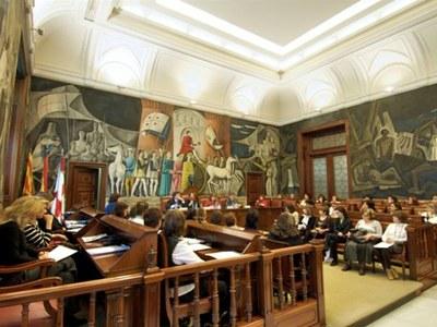 Constitución del Consejo Sectorial de la Mujer, 29 de febrero de 2008.