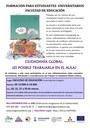 Formación sobre Ciudadanía Global para estudiantes universitarios de la Facultad de Educación de la Universidad de Zaragoza