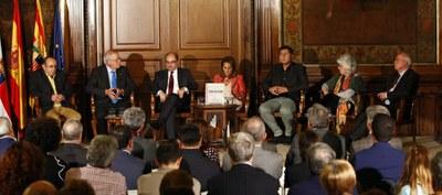 """""""Tejidos de vecindad"""", un estudio monográfico que se articula en el proyecto cultural que estudia con rigor los vínculos históricos entre Aragón y Cataluña"""