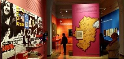 25.000 personas han pasado ya por el palacio de Sástago para visitar la exposición 'Dicen que hay tierras al Este'
