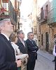 Beamonte muestra su compromiso con la renovación del barrio de La Muela de Caspe