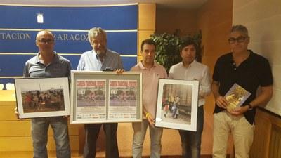 Belchite celebra este fin de semana una carrera tradicional aragonesa y una exposición de fotografías solidarias con los refugiados