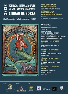 Borja disfrutará este fin de semana del plato fuerte de sus XXXIX Jornadas Internacionales de Canto Coral