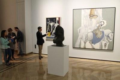 Casi 20.000 personas visitaron la exposición 'Legado. De Saura a Ribera' organizada por la DPZ en el palacio de Sástago