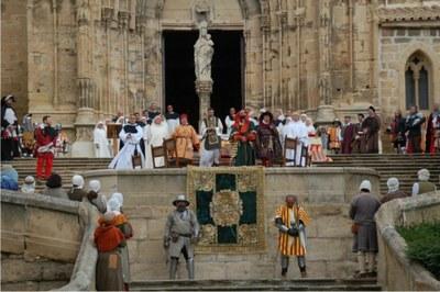 Caspe representará este domingo el juramento de los compromisarios que eligieron al rey Fernando I de Aragón