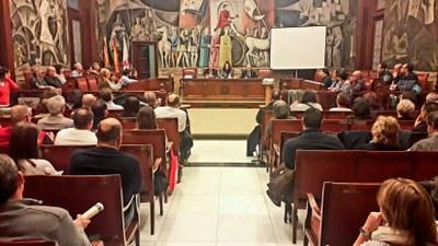 Ciento veinte cargos electos municipales se forman desde hoy en la 'escuela de concejales' de la Diputación de Zaragoza