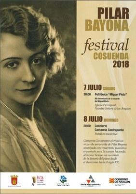 Cosuenda celebra este fin de semana la III edición del festival Pilar Bayona