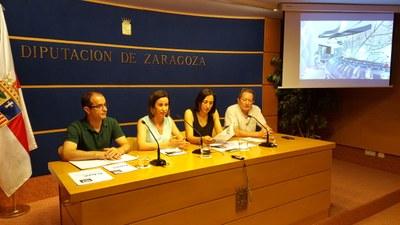 El Centro de Arte y Exposiciones de Ejea expone la obra multidisciplinar de los alumnos de la Escuela de Arte de Zaragoza