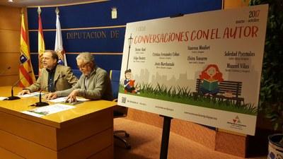 El ciclo 'Conversaciones con el autor' de la DPZ contará este año con 8 escritores de primera línea y llegará a 12 municipios
