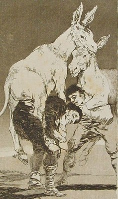 El consorcio cultural Goya-Fuendetodos de la DPZ expone la serie completa de 'Los caprichos' en el museo de Reus