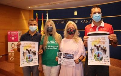 El Duatlón Cross Villa de Alfajarín celebra el 19 de septiembre una VII edición solidaria a favor de las personas afectadas por la ELA