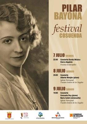 """El Festival Cosuenda """"Pilar Bayona"""" recuerda a la pianista que le da nombre por segundo año consecutivo"""