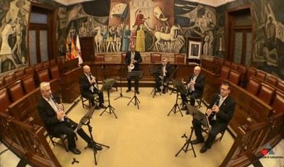 El grupo instrumental de la Diputación de Zaragoza ofrece este domingo un concierto virtual con motivo del día de Santa Cecilia