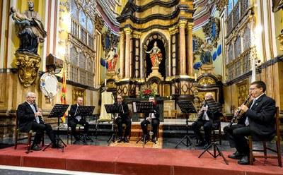 El grupo instrumental de la Diputación de Zaragoza ofrece un concierto este domingo en la iglesia de Santa Isabel de Portugal