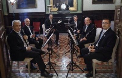 El grupo instrumental de la DPZ ofrece esta semana dos conciertos en Zaragoza con motivo de la Navidad