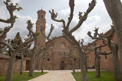 El monasterio de Veruela adapta sus horarios a la temporada de otoño-invierno desde este fin de semana
