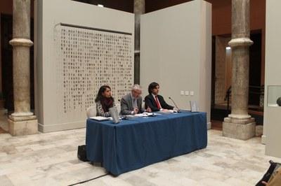 El Palacio de Sástago de DPZ acoge la Colección Esculturas con Dibujos del Instituto de Crédito Oficial.