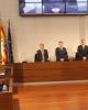El Pleno de la Diputación Provincial de Zaragoza guarda un minuto de silencio en memoria de las víctimas del 11-M