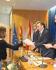 El presidente de la Diputación de Zaragoza participa en la entrega de diplomas  del curso de Gestión Pública de la Cátedra DPZ- Desarrollo Local