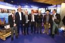 El presidente de la Diputación de Zaragoza participa en los actos del día de Aragón en Fitur