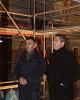 El presidente de la DPZ visita la localidad de Ambel con motivo de las fiestas de San Sebastián