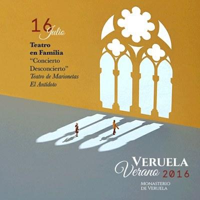 El programa Veruela Verano continúa este sábado con un espectáculo de marionetas a cargo de la compañía El Antídoto