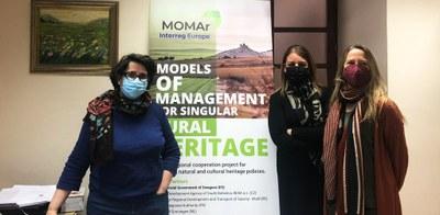 El proyecto europeo MOMAr, liderado por la DPZ, reúne expertos de nueve países para intercambiar buenas prácticas en gestión patrimonial