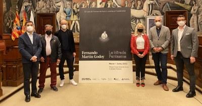 Fernando Martín Godoy homenajea a Goya en su casa natal con 'La mirada fantasma', un juego con la memoria, la ficción y la percepción