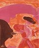 """Fuendetodos acoge  las """"Tauromaquias"""" de Goya y Barjola"""