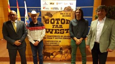 Gotor volverá a convertirse este fin de semana en un pueblo del lejano Oeste con la II edición del festival Gotor Far West