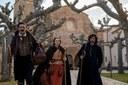 La 1 de TVE emite mañana el capítulo que la serie 'El Ministerio del Tiempo' rodó sobre Bécquer en el monasterio de Veruela