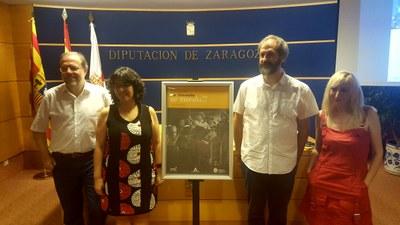La Almunia volverá a transportarse a la Segunda República el 1 de julio con la recreación del rodaje de 'Nobleza baturra'