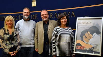 La Almunia volverá este sábado a los años 30 con la recreación del rodaje de la película de Florián Rey 'Carmen la de Triana'