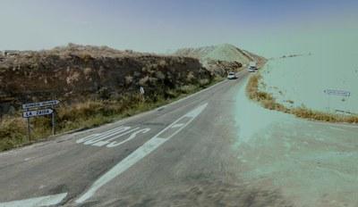 La carretera que conecta Cinco Olivas y Sástago, la CP-16, quedará cortada al tráfico a partir de mañana lunes y durante una semana