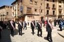 La Corporación Provincial participa en los actos de la festividad del Corpus Christi de Daroca