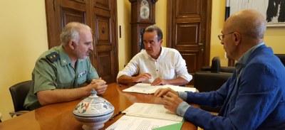 La Diputación de Zaragoza aportará 288.000 euros para que la Guardia Civil haga arreglos y mejoras en 12 casas cuartel de la provincia
