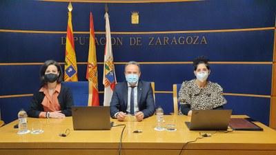 La Diputación de Zaragoza aprueba su presupuesto para 2021 con el apoyo del PSOE, En Común-IU, Ciudadanos y Podemos-Equo