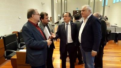 La Diputación de Zaragoza aprueba un presupuesto de 155 millones de euros con los votos a favor del PSOE, En Común y CHA