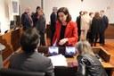 La Diputación de Zaragoza arreglará la carretera de Pastriz y la que conecta Tauste y Castejón de Valdejasa