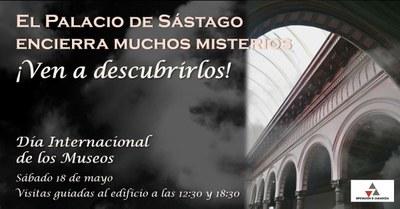 La Diputación de Zaragoza celebra este sábado el Día Internacional de los Museos con visitas guiadas al palacio de Sástago