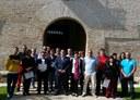 La Diputación de Zaragoza clausura el cuarto taller de empleo impulsado para restaurar el palacio abacial de Veruela