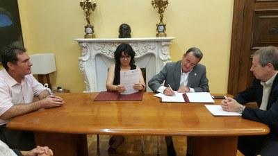 La Diputación de Zaragoza colabora con 500.000 euros en el funcionamiento y prestación de servicios de la EUPLA