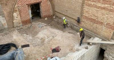 La Diputación de Zaragoza comienza la restauración de la casa de las Conchas de Borja con una inversión de 431.000 euros