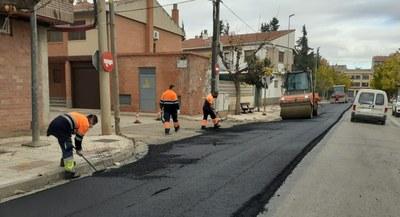 La Diputación de Zaragoza comienza las obras de mejora del firme de la carretera provincial que conecta La Almunia y Alpartir