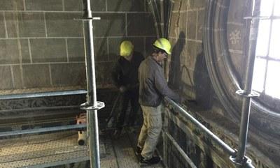 La Diputación de Zaragoza comienza  las obras para restaurar la capilla de la Purificación de la catedral de Tarazona
