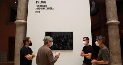 La Diputación de Zaragoza concede el V premio de arte Joaquina Zamora al artista Jorge Isla por su obra 'Le Reflet IX'