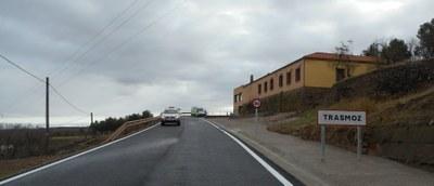La Diputación de Zaragoza finaliza el arreglo de la carretera de acceso a Trasmoz