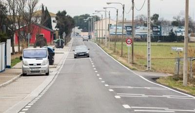 La Diputación de Zaragoza finaliza el arreglo de la travesía de Movera, que ha supuesto una inversión de 340.000 euros