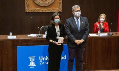 La Diputación de Zaragoza, galardonada con uno de los premios Triple Hélice de la Universidad de Zaragoza