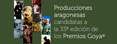 La Diputación de Zaragoza ha participado en 6 de los 8 largometrajes aragoneses que han presentado candidatura a los premios Goya